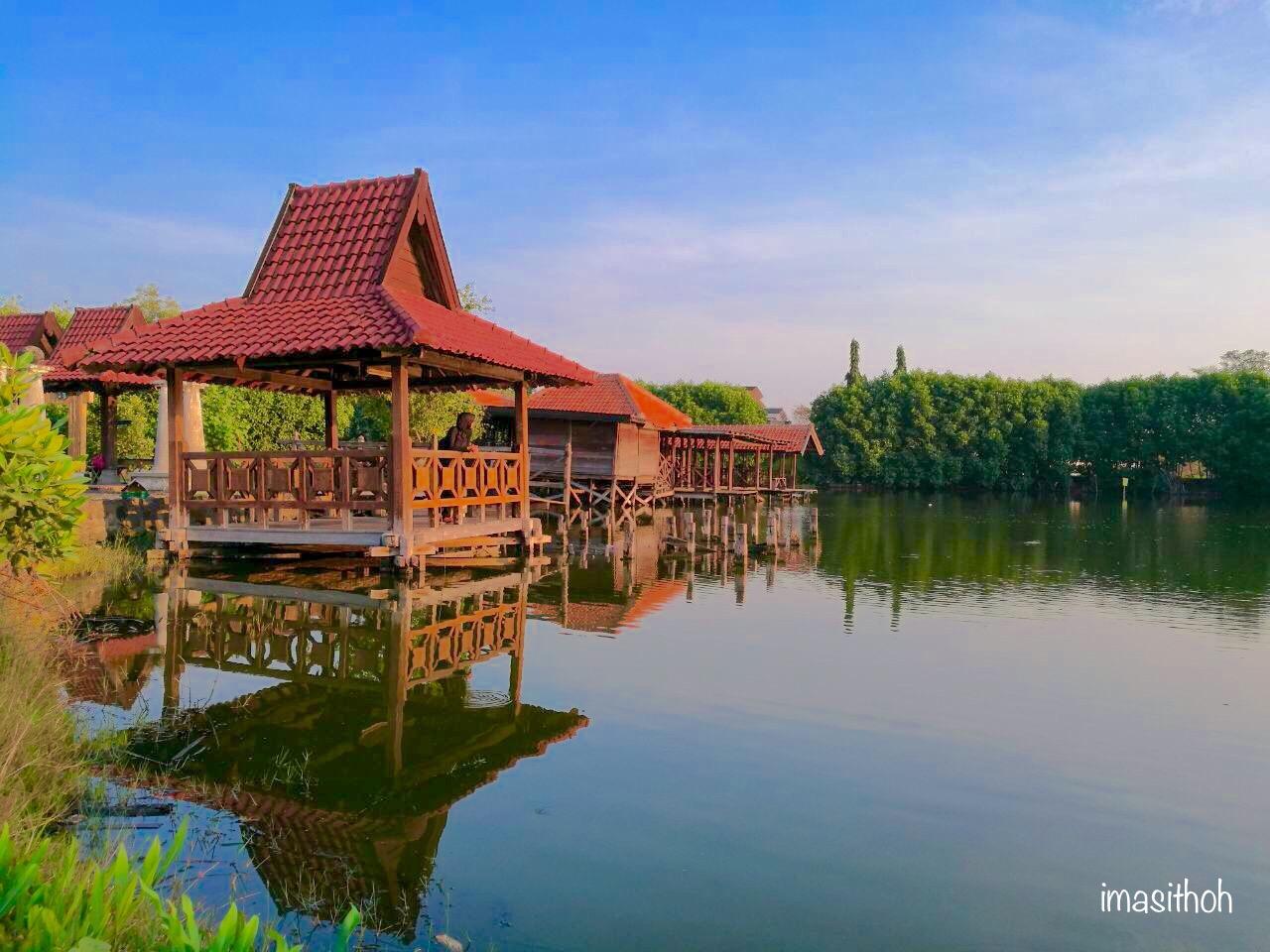 Danau Buatan PRPP Jawa Tengah