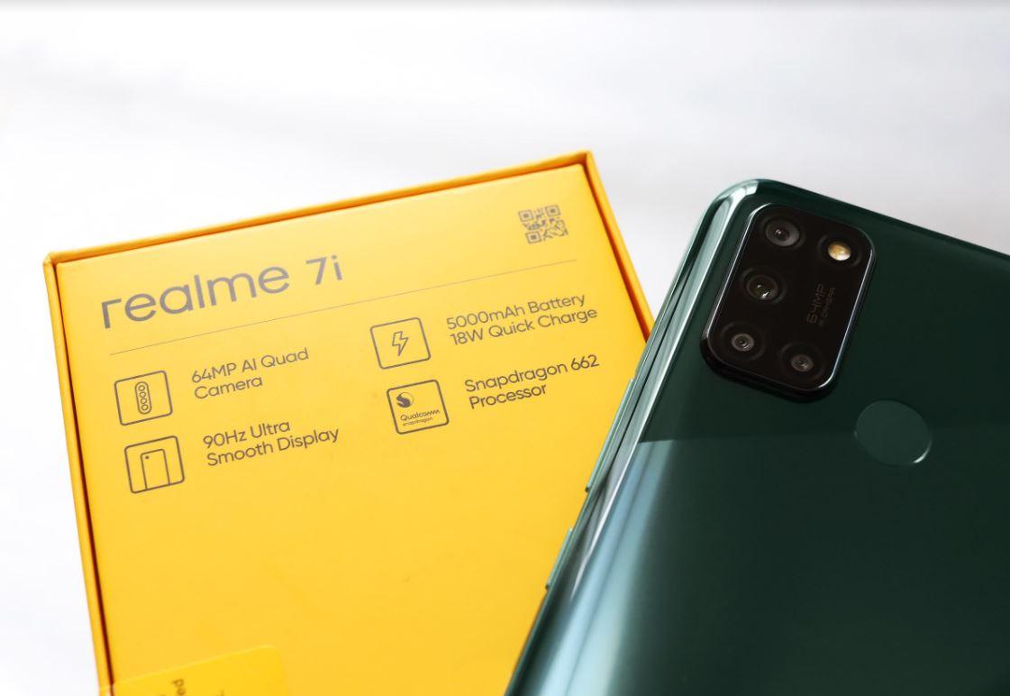 Realme 7i, Smartphone 8GB + 128GB Terbaik di Kelasnya
