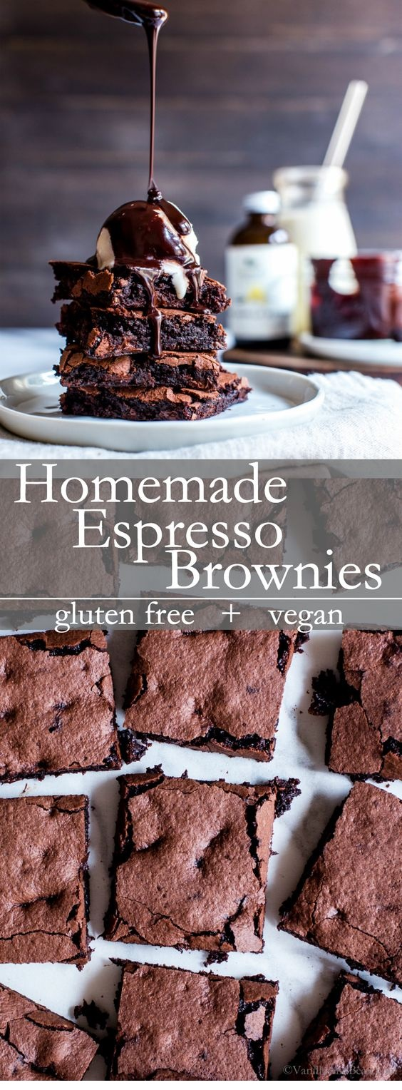 Homemade Espresso Brownies
