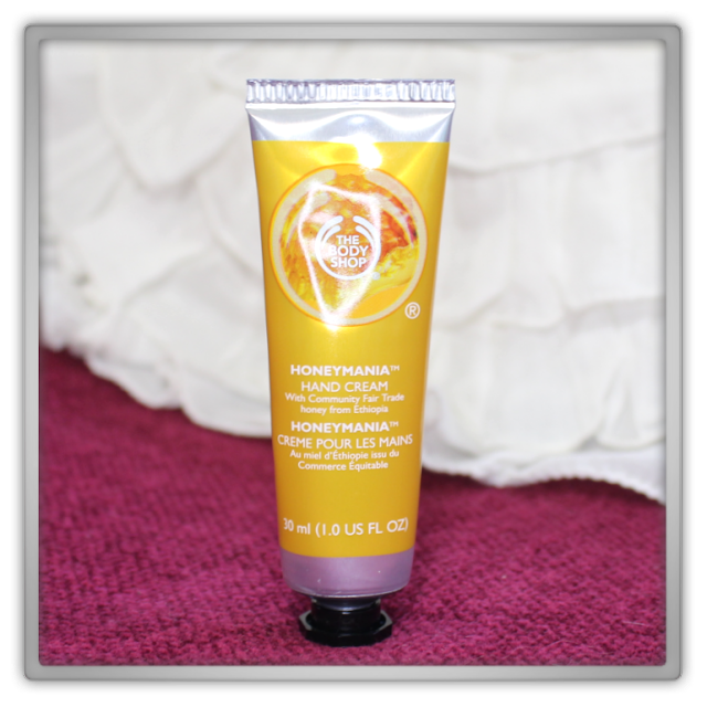 The Body Shop Haul Review blog beauty blogger honey honeymania hand cream moisture bee