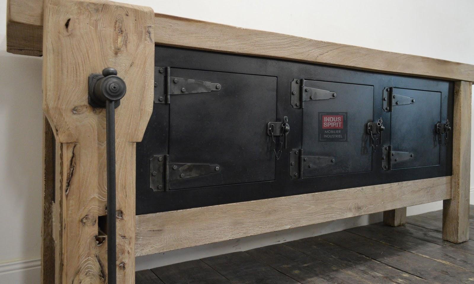 ancien tabli de menuisier. Black Bedroom Furniture Sets. Home Design Ideas
