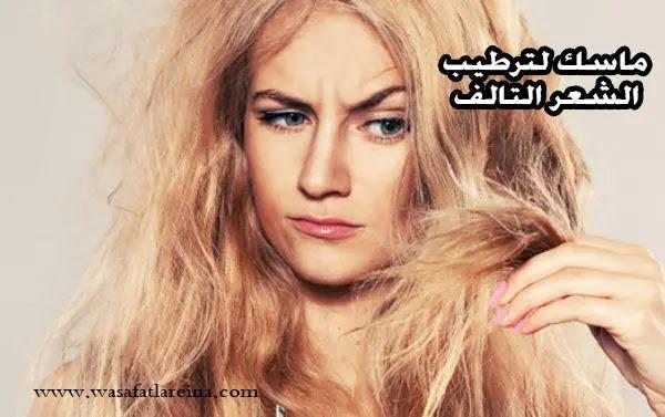 ماسك ترطيب الشعر