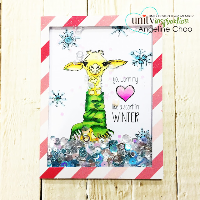 ScrappyScrappy: [NEW VIDEO] Cyber Monday with Unity Stamp #scrappyscrappy #unitystampco #card #cardmaking #papercraft #stamp #stamping #quicktipvideo #youtube #video #katscrappiness #katscrappinessdie #shakercard #interactivecard #katscrappinesssequins #sequins #tierrajackson #copicmarkers #giraffe #christmascard #christmas #holidaycard