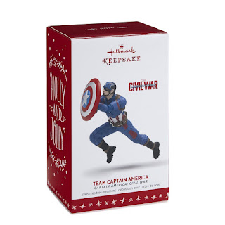 captain america hallmark ornament