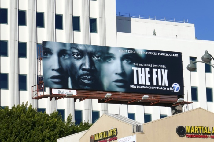 The Fix series billboard