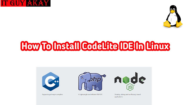 command to install code lite in linux