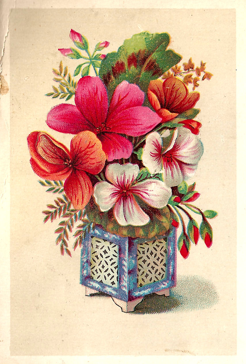 Antique Images: Free Flower Graphic: Victorian Scrap with Big ...