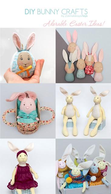 DIY Easter bunny crafts & ideas