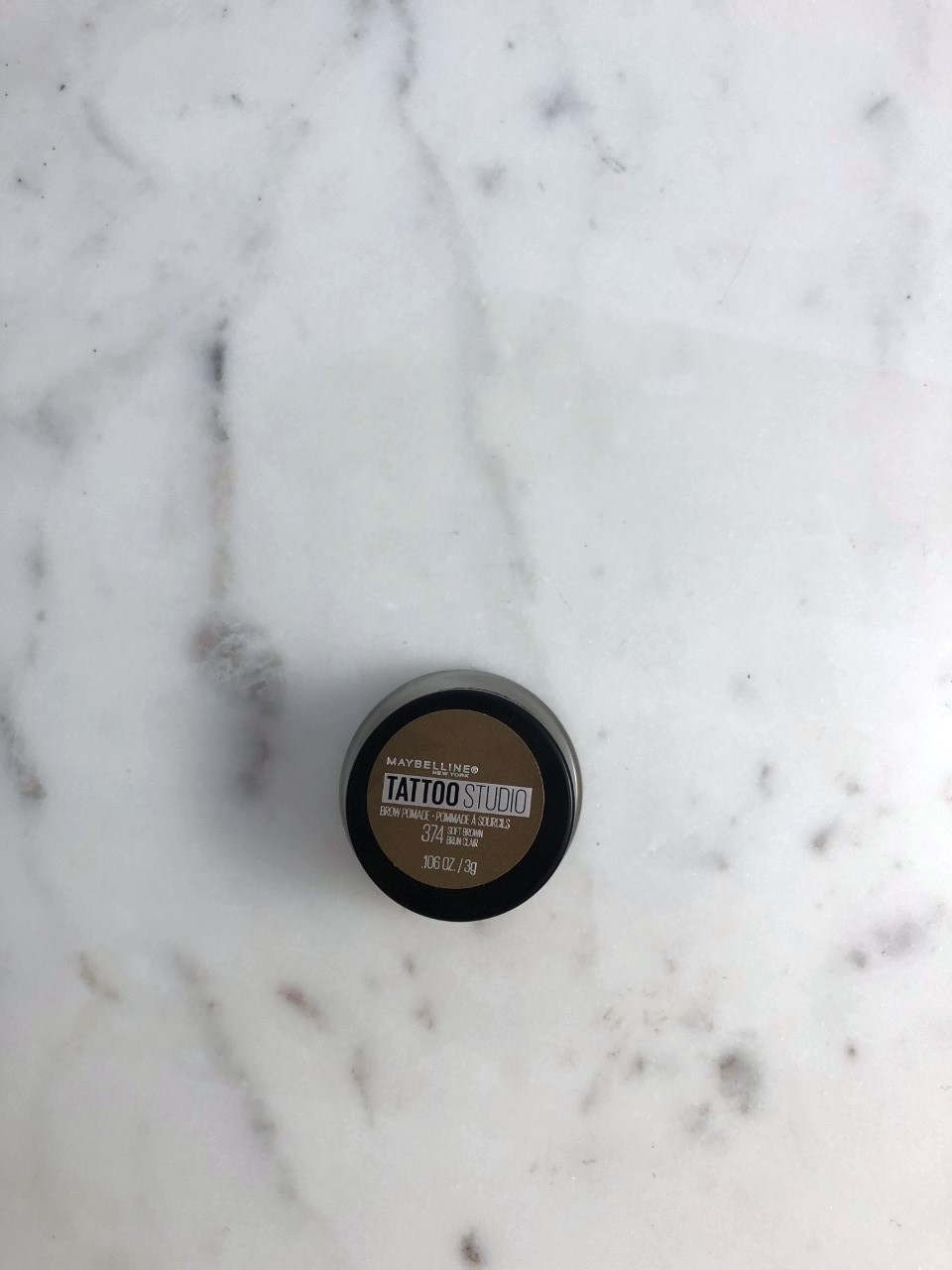 Maybelline New York Tattoo Studio Brow Pomade: A quick review