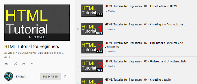 HTML Tutorials For Beginners