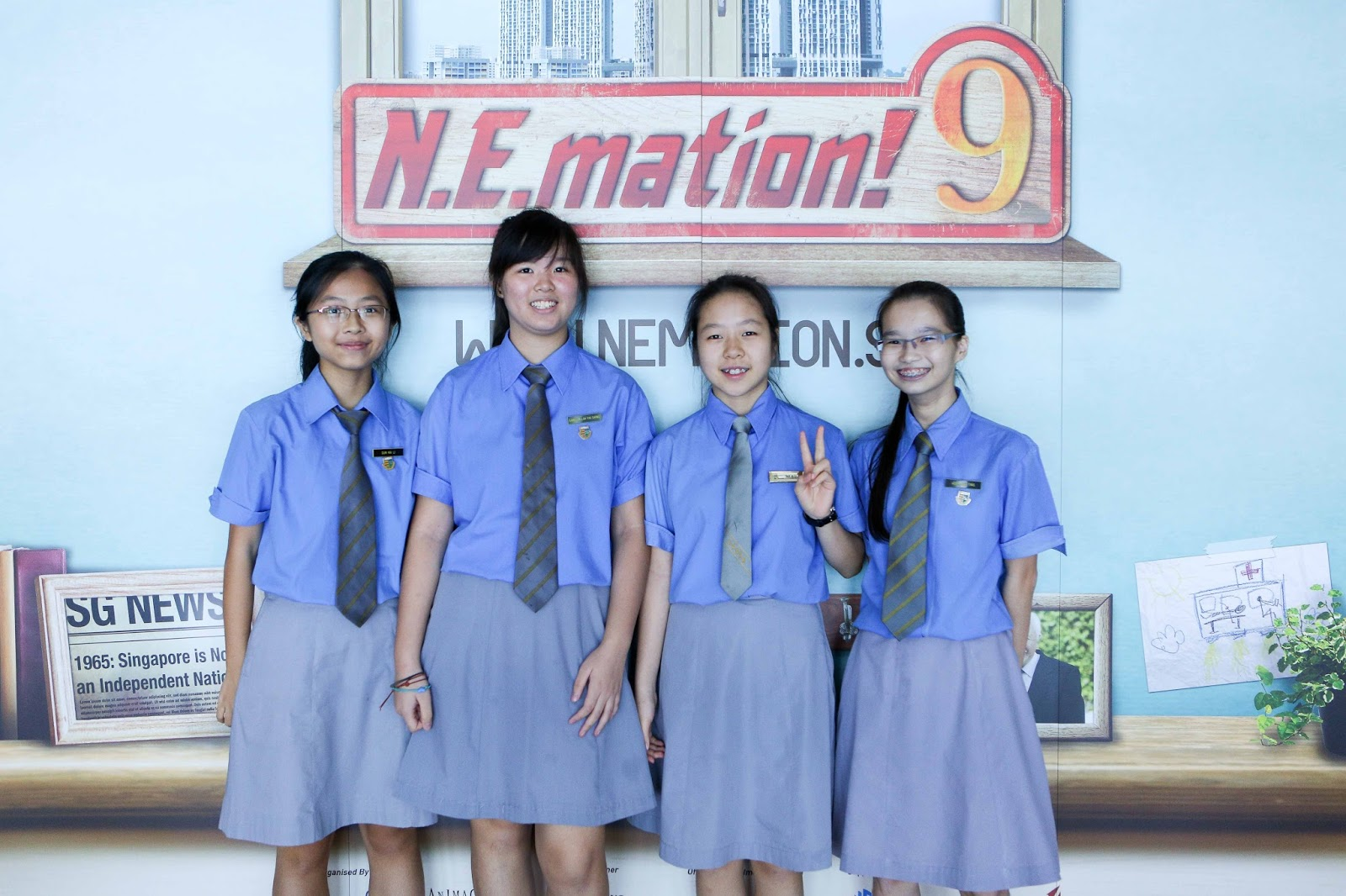 singapore school girls photos