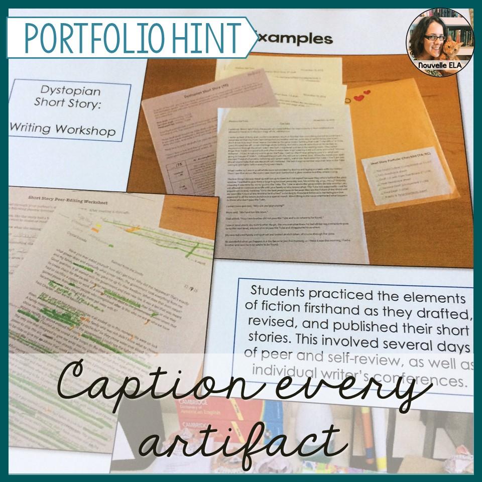 how to create a job portfolio