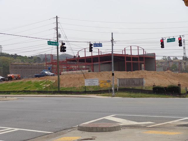 Construction Advances At Kennesaw Marketplace Castle Lake