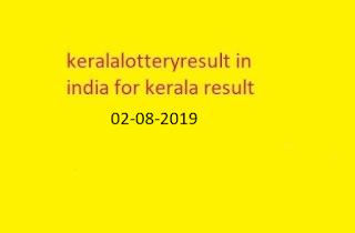 nirmal lottery sthree sakthi lottery result 2019-0-8-02