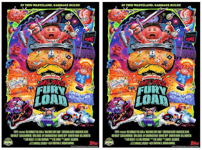 """New York Comic Con 2021 Exclusive Garbage Pail Kids """"Mad Mike Fury Load"""" Print by Joe Simko x Topps"""
