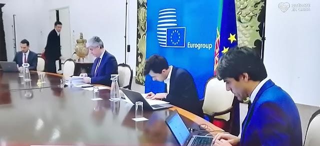 Fracasa el tercer encuentro del Eurogrupo con dos bloques claramente distanciados