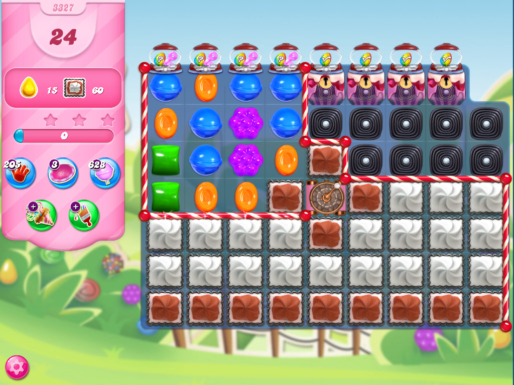 Candy Crush Saga level 3327