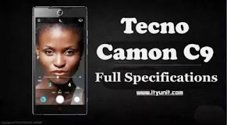 tecno-camon-c9-specification