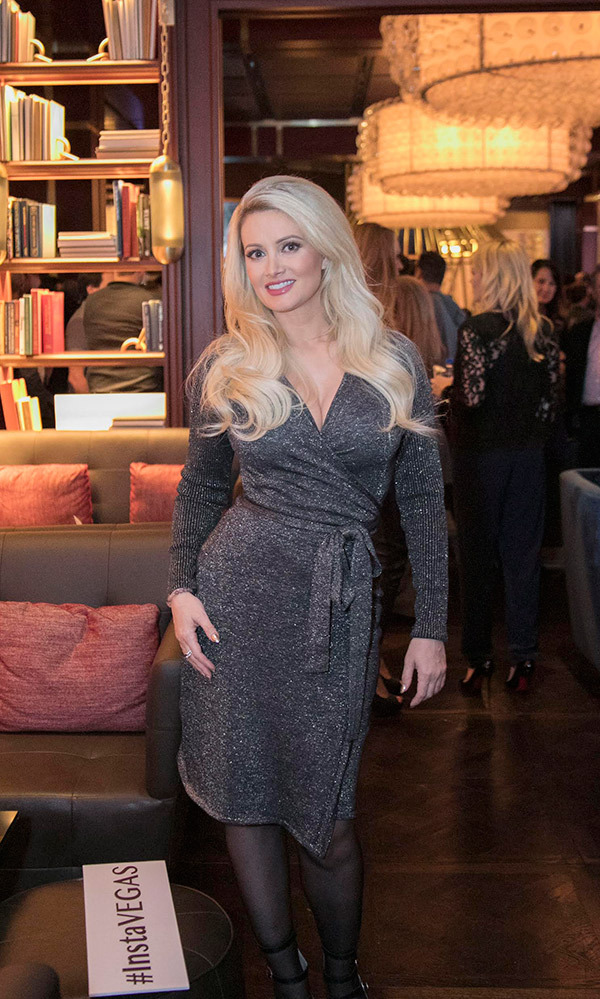 Vegas Magazine Celebrates its Winter Issue with Cover Star Holly Madison at The Dorsey in The Venetian