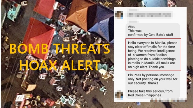 Hoax bomb threats spreads on social media after Davao blast