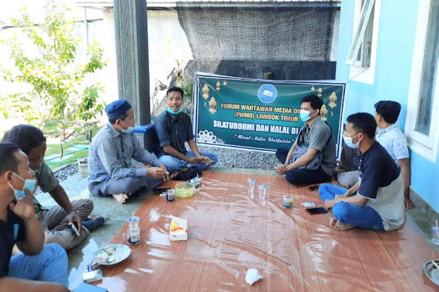 Pererat silaturahmi, FWMO Lombok Timur gelar halal bihalal