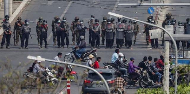 Satu Suara, Dunia Mengecam Kekerasan Militer Myanmar