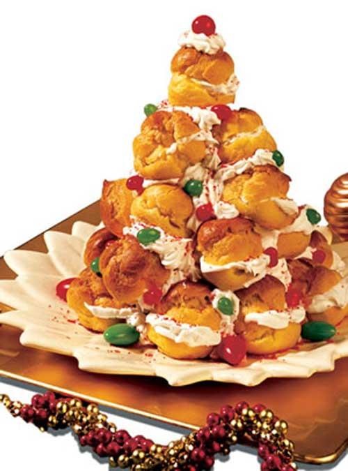 как украсить десерты на новый год