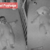 Shocking video shows baby gets tangled in comfort blanket