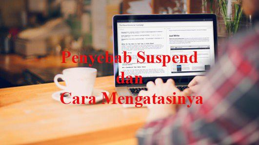 kenapa website kena suspend