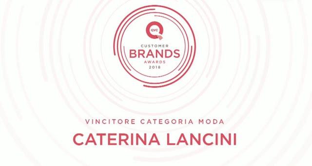 caterina lancini vince il premio moda 2018 su qvc