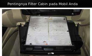 filter ac cabin mobil
