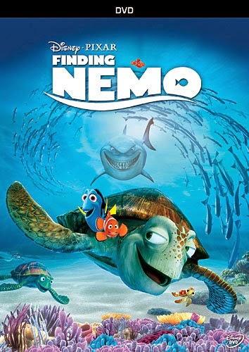Finding Nemo, watched as part of ocean theme week preschool