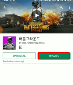 update pubg mobile versi korea