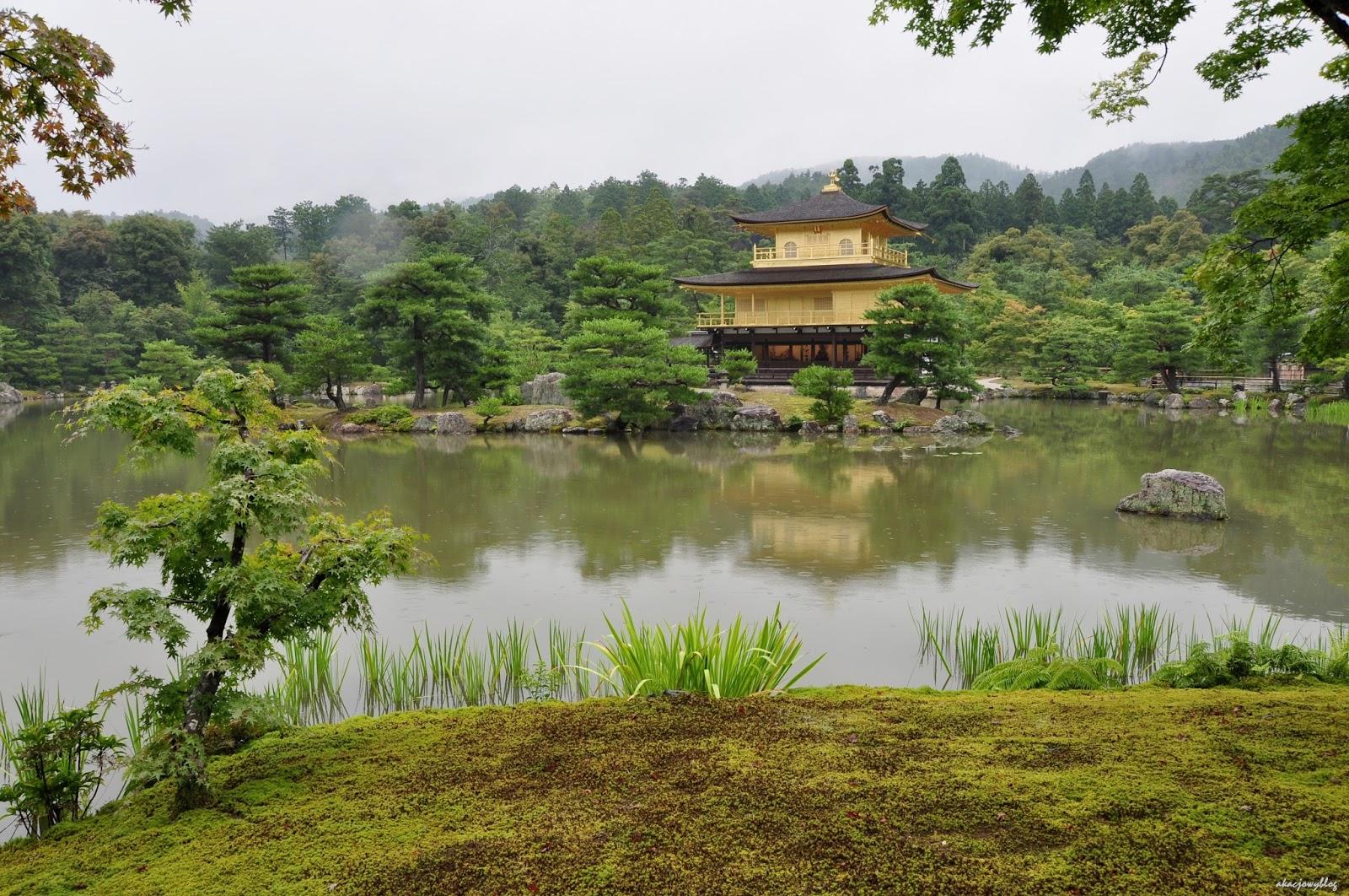 W japońskich ogrodach.
