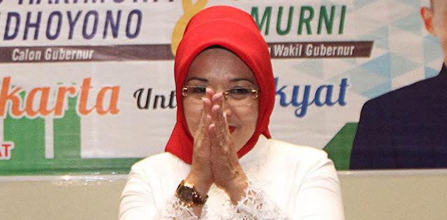 Positif Corona, Sylviana Murni: Mohon Maaf Lahir Dan Batin