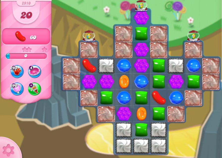 Candy Crush Saga level 2910