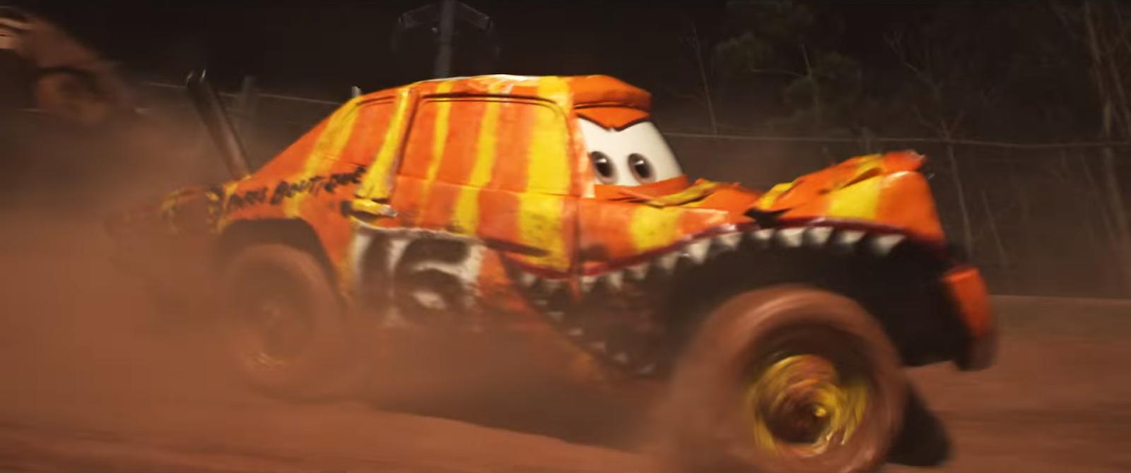 Dan the Pixar Fan Cars 3 Pushover