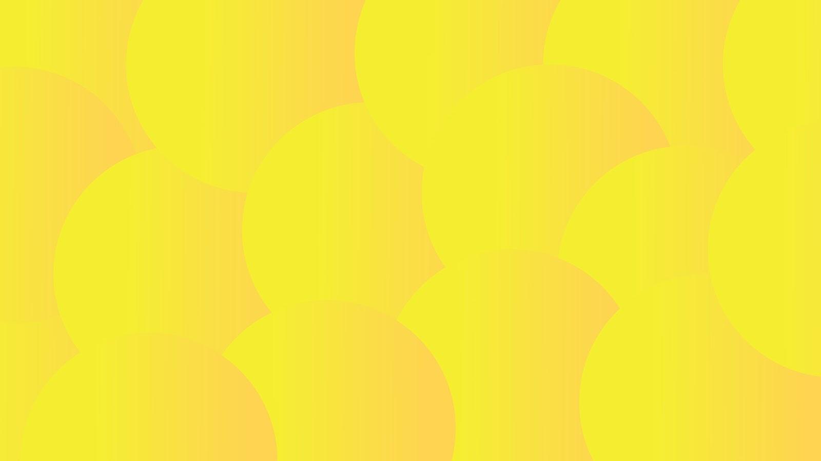 begron kuning cerah