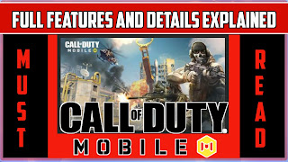 Call Of Duty Mobile full details and features