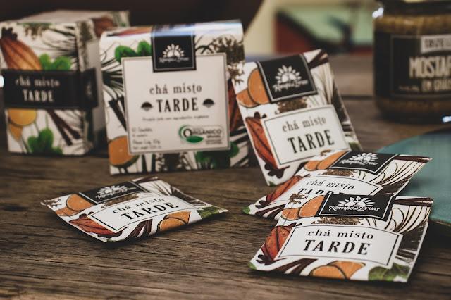 Chá Misto Tarde - Kampo de Ervas