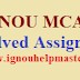 IGNOU MCA Solved Assignments 2021-22 Session