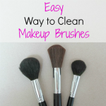 How to Clean Makeup Brushes the easy way
