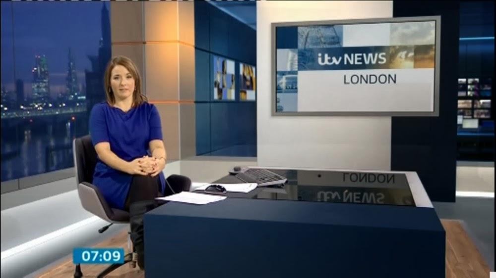 Uk Regional News Caps Sascha Williams Itv London