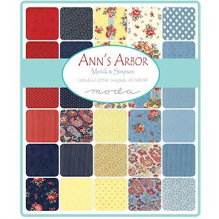 Moda Ann's Arbor Fabric by Minick & Simpson for Moda Fabrics