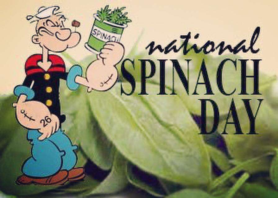 National Spinach Day Wishes Sweet Images