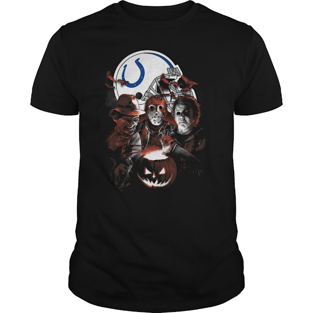 Indianapolis Colts Halloween Scream Team Shirt