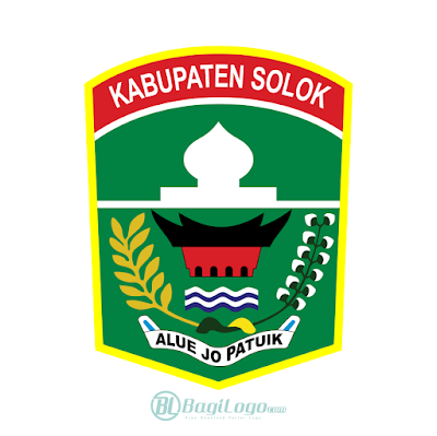 Kabupaten Solok Logo Vector