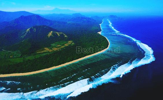 Pulau terbaik di Indonesia dan Dunia