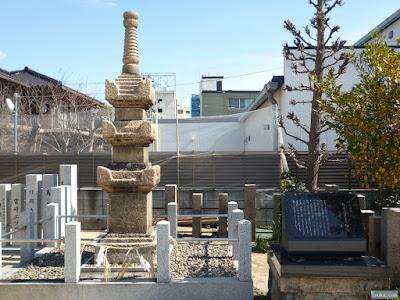都島神社石造三重宝篋印塔