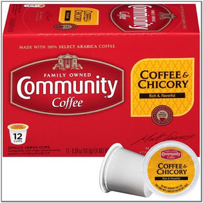 Chicory Root Coffee;Community Coffee Coffee & Chicory Single-Serve K-Cup Compatible Coffee Pods;